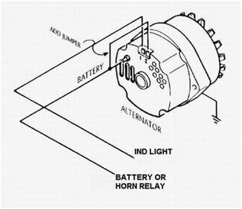 Wire Alternator Idiot Light Hook Hot Rod Forum
