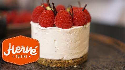 le cheesecake sans cuisson framboises pistaches