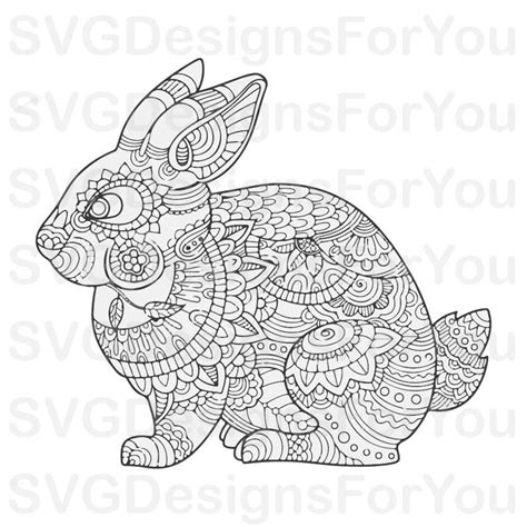 See more ideas about mandala, mandala svg, svg. Mandala Bunny SVG Easter Bunny Svg Mandala Rabbit Clip Art ...