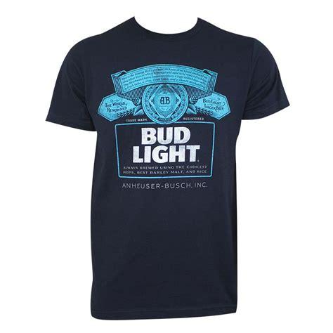 bud light t shirt bud light men 39 s navy blue t shirt