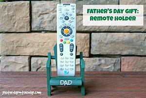Father's Day Gift: Remote Holder | Yesterday On Tuesday