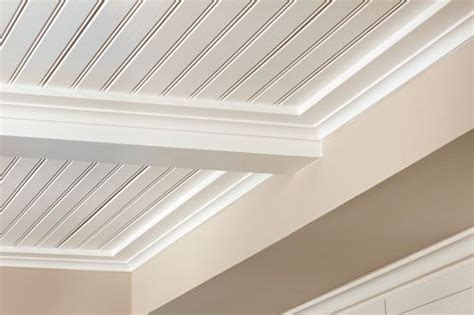 Bead Ceiling  Using Vinyl Beadboard Soffit For Porch