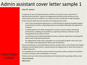 Administrative Assistant Cover Letters Sample Sample Executive Assistant Cover Letter 9 Download Free Sample Administrative Assistant Cover Letter 9 Download Best Entry Level Administrative Assistant Cover Letter