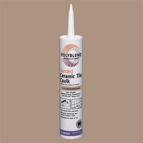 Polyblend Sanded Ceramic Tile Caulk Time by Custom Building Products Polyblend 135 10 5 Oz