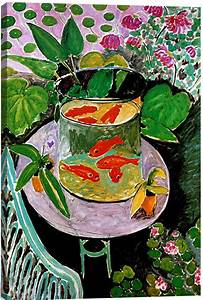 The Goldfish By Matisse Canvas Print