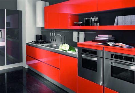decoracion de cocinas rojas