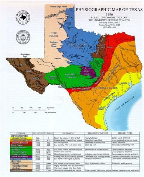 Gulf Coastal Plains Regions Of Texas