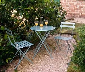 garten sitzgruppe in shutter blue the garden shop With französischer balkon mit garten metalltisch