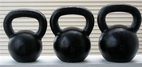 kettlebell sizes different training