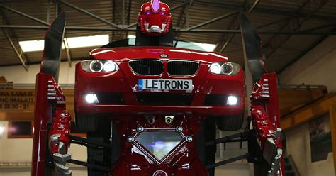 Real-life Transformers Car Changes From Sporty Bmw Into A