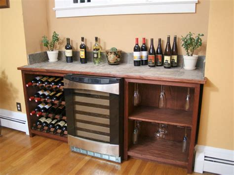 How To Build A Wine Cabinet by How To Build A Wine Storage Unit Hgtv