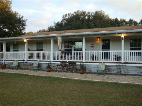covered  porch designs luxury double wide mobile