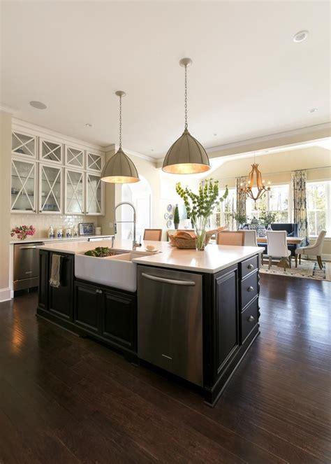 The Functionality Of This Country Kitchen Lies In Its Open