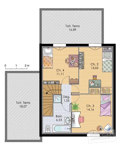 meuble derriere canapé maison à étage 2 dé du plan de maison à étage 2