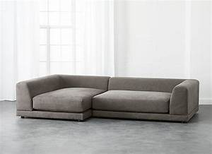 uno 2 piece sectional sofa with a low back decoist With sectional sofa low back