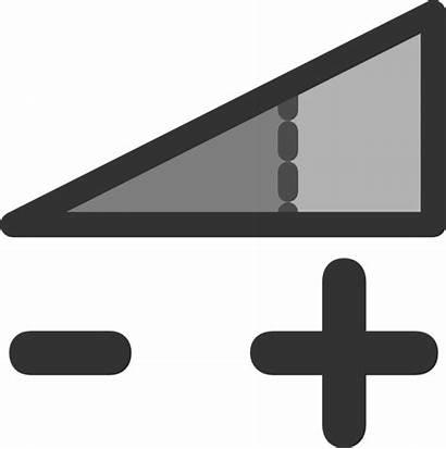 Volume Clip Control Bar Icon Clipart Sound