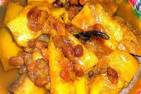 cuisine miel recette de patate douce a la marocaine de ma mère