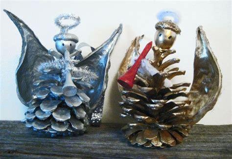 craft tutorial pinecone angels lulu lang