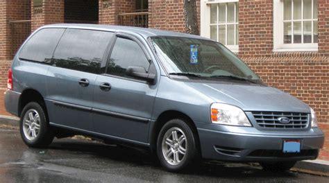 2006 Ford Minivan by 2006 Ford Freestar Sel Passenger Minivan 4 2l V6 Auto