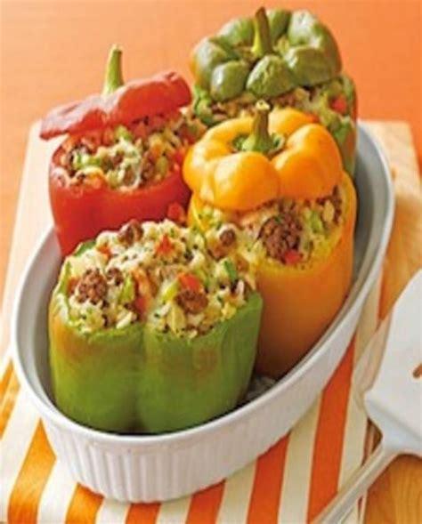 recettes de cuisine fr3 délicieux poivrons farcis au boeuf pour 4 personnes recettes à table