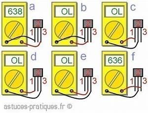 Comment Mesurer Amperage Avec Multimetre : le transistor bipolaire test au multim tre ~ Premium-room.com Idées de Décoration
