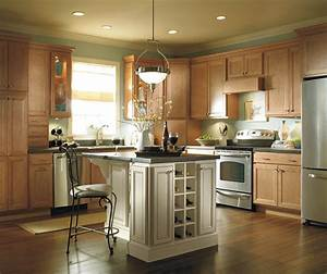 light maple kitchen cabinets homecrest cabinetry With what kind of paint to use on kitchen cabinets for houzz wall art