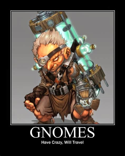 gnome gnomes fantasy rogue character crazy characters steampunk artificer tinker google pathfinder saboteur concept rpg dnd dwarf archetype artwork epic