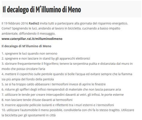 Decalogo M Illumino Di Meno by I Cambiamenti Climatici 187 La Maestra