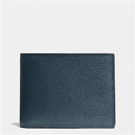 coach slim wallet black 1 coach mens wallet blue www imgkid the image kid