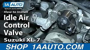 How To Install Replace Idle Air Control Valve Suzuki Xl