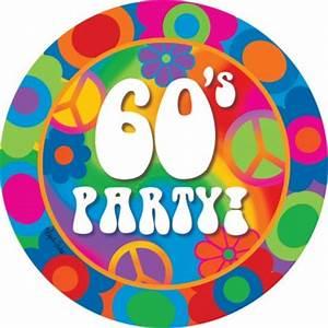 Möbel 60iger Jahre : 60er jahre motto party teller ~ Sanjose-hotels-ca.com Haus und Dekorationen