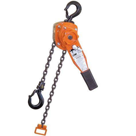 columbus mckinnon series  lever operated hoist
