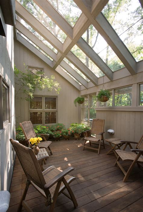 sunroom furniture porch traditional with glass ceiling