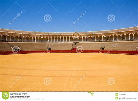 design on stock villa arena bullfight arena sevilla spain stock photo image 25791900