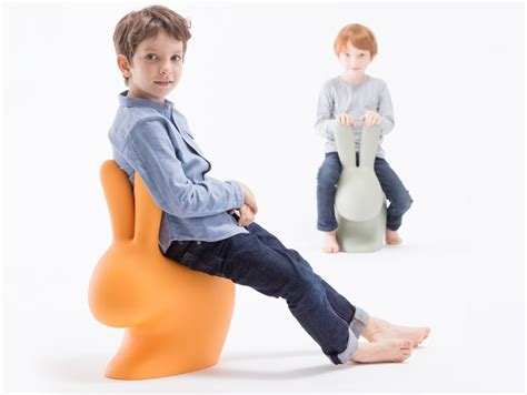 stefano giovannoni s rabbit chair uses a playful