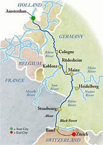 Rhine Cruise - Koln and Frankfurt Germany