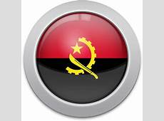 Flag Icons of Angola 3D Flags Animated waving flags of