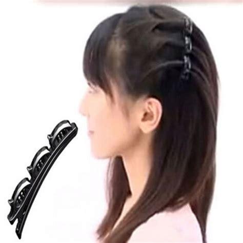 Mapepe Hair Clip Black 2 Pcs 2 pcs pack black hairpins hair hairclip