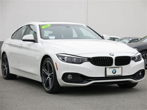 2018 Used Bmw 4 Series 430i Gran Coupe At Peter Pan Bmw