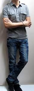Grey Shoes With Dark Blue Jeans - Style Guru Fashion ...