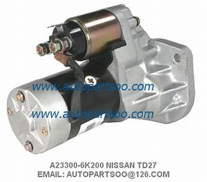 Nissan Td27 Starter Motor A23300