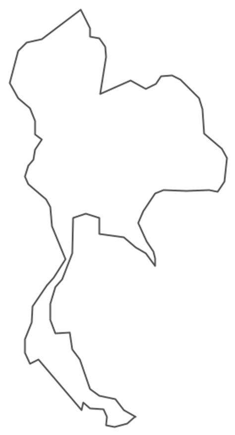 geo map asia thailand