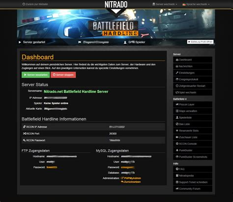 battlefield hardline gameserver mieten nitradonet