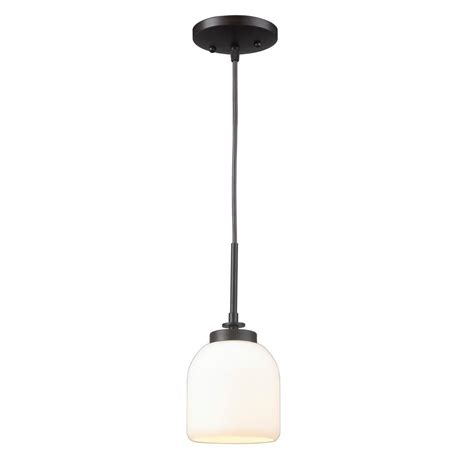 world imports 1 light rubbed bronze mini pendant with