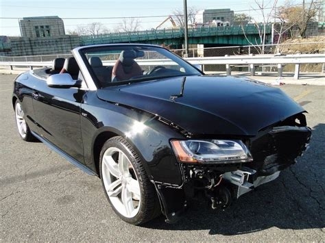 Low Miles 2011 Audi S5 30l V6 Convertible Repairable For Sale