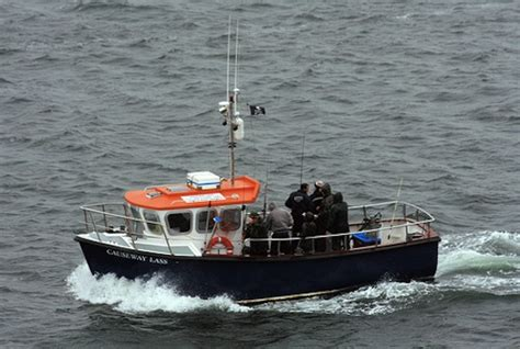 causeway lass charters portrush harbour drowning worms