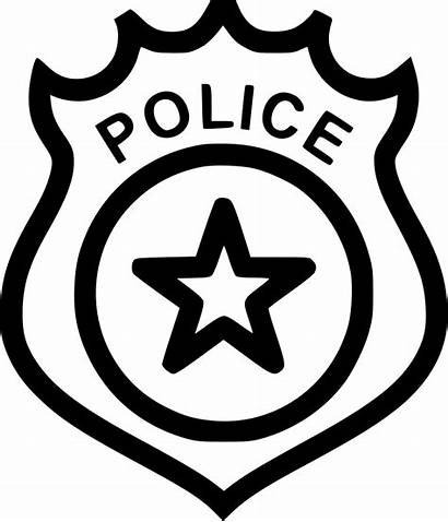Badge Police Svg Icon Onlinewebfonts