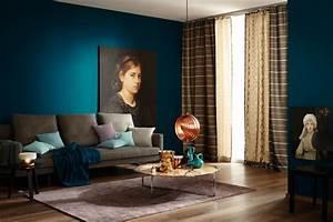 Welche Farbe Passt Zu Türkis Wandfarbe : trendfarbe petrol und akzente mit kupfer bild 8 sch ner wohnen ~ Bigdaddyawards.com Haus und Dekorationen