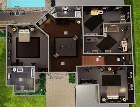 sims house plans mansion floor building plans 59318
