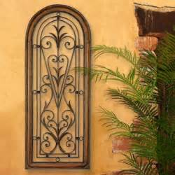 tuscan italian arched window mediterranean wall grille panel 4 ft ebay